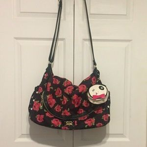 Betsey Johnson Messenger Diaper Bag